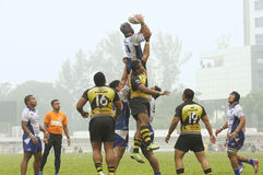 Rugby 33rd Agong Cup 2015 Royalty Free Stock Photography