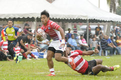 Rugby 33rd Agong Cup, Quarter Finals Royalty Free Stock Images