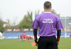 Rugby referee Stock Photos