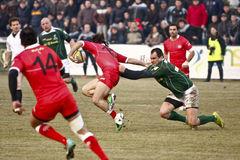 Rugby: Roemenië Georgië Stock Afbeeldingen