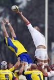 Rugby Roemenië-Georgië Stock Fotografie