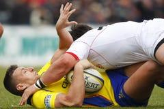 Rugby Roemenië-Georgië Stock Afbeeldingen
