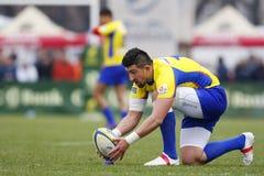 Rugby Roemenië-Georgië Royalty-vrije Stock Afbeeldingen