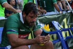 Rugby Romania  - Brasil Royalty Free Stock Photos