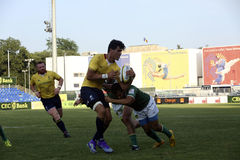 Rugby Romania  - Brasil Royalty Free Stock Images