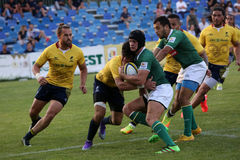 Rugby Romania  - Brasil Stock Images
