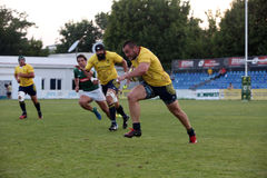 Rugby Romania  - Brasil Royalty Free Stock Image