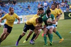 Rugby Romania  - Brasil Stock Photo