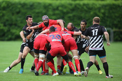 Rugby ruck Stock Photos