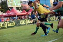 Rugby Rumänien - Brasilien Stockbilder
