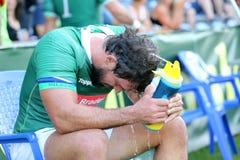 Rugby Rumänien - Brasilien Lizenzfreie Stockfotografie