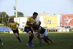 Rugby Rumänien - Brasilien Lizenzfreie Stockbilder