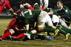 Rugby: Rumänien Georgia lizenzfreie stockfotos