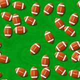 Rugby seamless generated hires texture Stock Photography