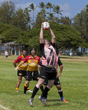 Rugby for Seniors Royalty Free Stock Photography