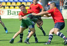 Rugby Seven action Royalty Free Stock Image