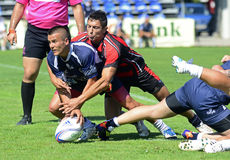 Rugby Seven action Royalty Free Stock Photo
