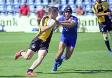 Rugby Seven action Royalty Free Stock Photography