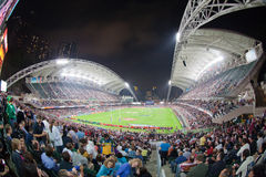 Rugby Sevens 2012 de Hong Kong Images stock