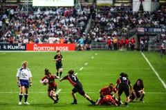 Rugby Sevens 2012 de Hong Kong Fotografia de Stock Royalty Free