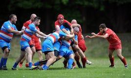 Rugby Skra Varsóvia - Budowlani Lodz Foto de Stock