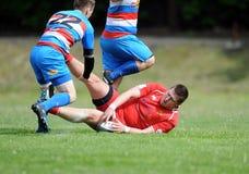 Rugby Skra Varsóvia - Budowlani Lodz Fotografia de Stock
