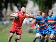 Rugby Skra Varsavia - Budowlani Lodz Fotografia Stock