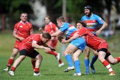 Rugby Skra Varsavia - Budowlani Lodz Immagini Stock Libere da Diritti