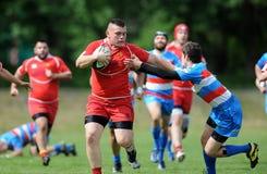 Rugby Skra Varsavia - Budowlani Lodz Immagini Stock