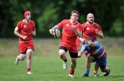 Rugby Skra Varsovie - Budowlani Lodz Images stock
