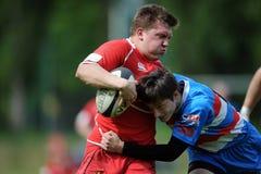 Rugby Skra Warszawa - Budowlani Lodz Royaltyfri Fotografi