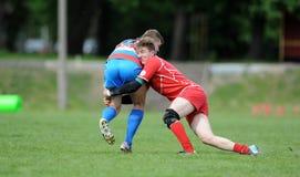 Rugby Skra Warszawa - Budowlani Lodz Fotografering för Bildbyråer