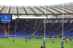 Rugby stadium Royalty Free Stock Images