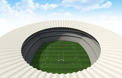 Rugby Stadium Day Royalty Free Stock Photos