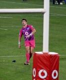Rugby Steyn che controlla i tori Sudafrica 2012 di scossa Fotografie Stock
