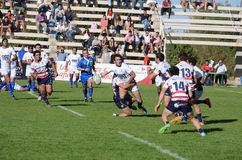 Rugby Tackle Royalty Free Stock Image