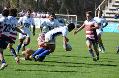 Rugby Tackle Royalty Free Stock Images