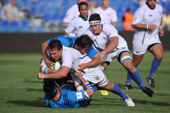 Rugby tackle Stock Photos