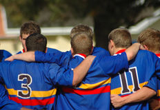 Rugby team Stock Photography