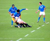 Rugby test match Italy vs Australia Stock Photo