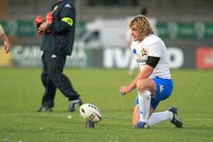 Rugby test match Italy vs Samoa; Bergamasco Mirco Royalty Free Stock Images