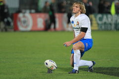 Rugby test match Italy vs Samoa; Bergamasco Mirco Royalty Free Stock Photos