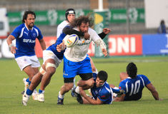 Rugby test match Italy vs Samoa; Castrogiovanni Stock Images