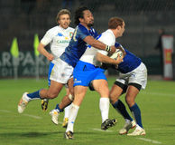 Rugby test match Italy vs Samoa; Garcia Royalty Free Stock Images