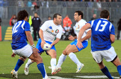 Rugby test match Italy vs Samoa; Gower Royalty Free Stock Image