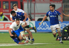 Rugby test match Italy vs Samoa; Gower Royalty Free Stock Images