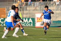 Rugby test match Italy vs Samoa; Lemi Stock Image