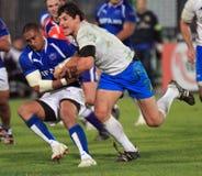 Rugby test match Italy vs Samoa; Zanni royalty free stock photo