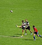 Rugby in Twickenham Royalty-vrije Stock Foto's