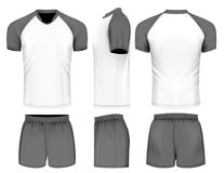 Rugby uniform jersey and shorts Stock Photography